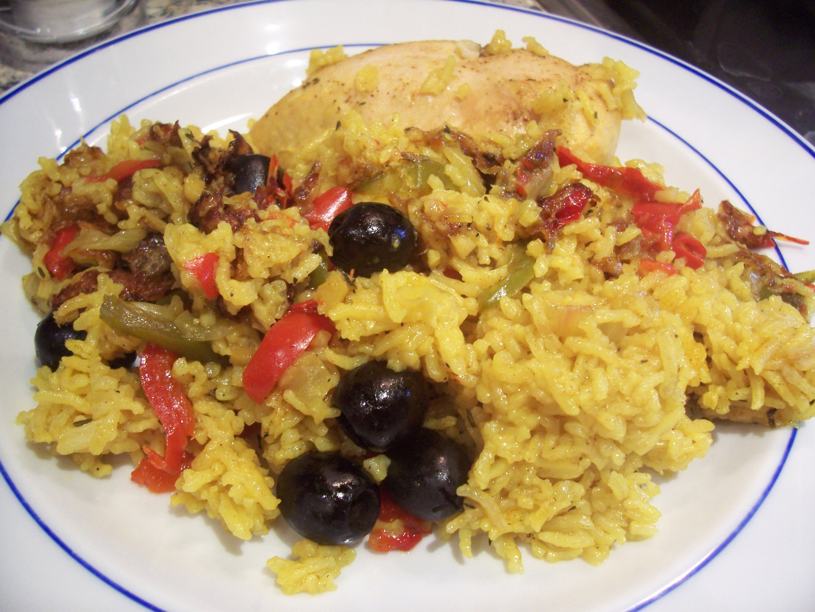 Puerto Rican Chicken and Rice | Searching for Spice