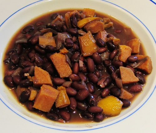 Black Bean and Sweet Potato Soup | Searching for Spice