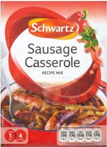 schwartz sausage casserole mix