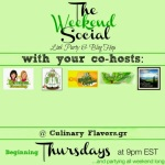 The weekend social badge  Culinary Flavors