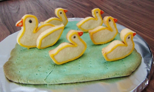 5 little ducks biscuits