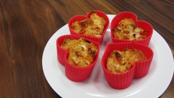leek and cheddar muffins