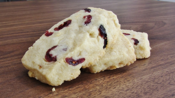 cranberry and nut cookies