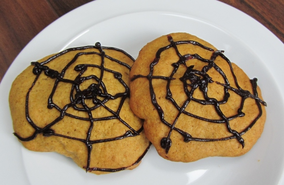 soft cakey pumpkin biscuits