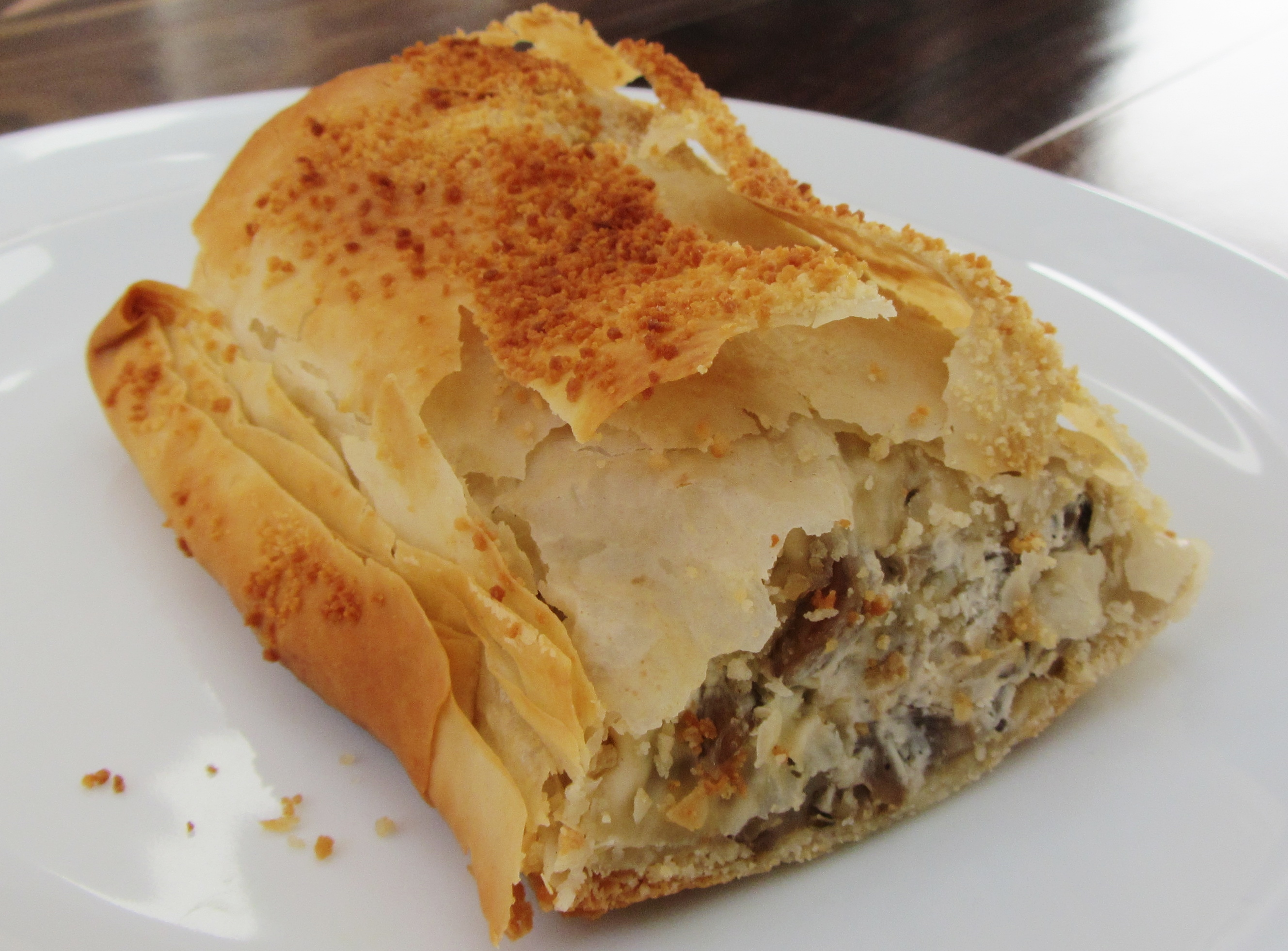 Mushroom Strudel | Searching for Spice