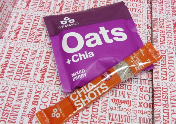Chia oats and shots