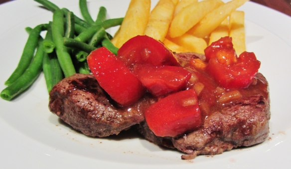 Fillet Steak with Bois Boudrin