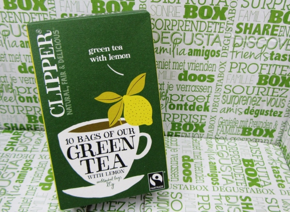 Clipper Green Tea with Lemon