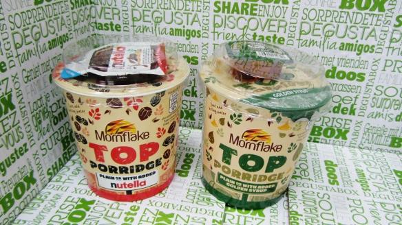 Mornflake top porridge