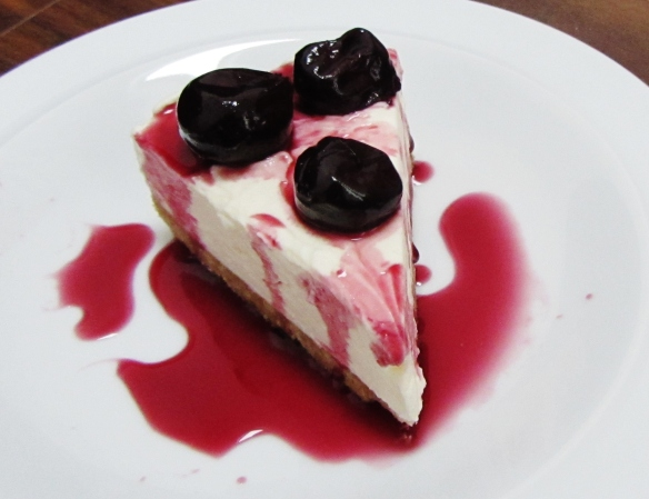 black cherry cheesecake 3