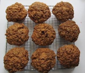 cranberry streusal muffins