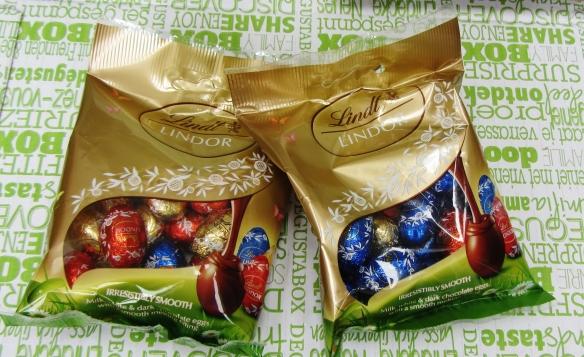 Lindt Lindor eggs